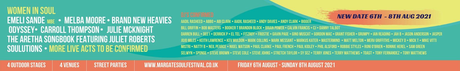 Margate Soul Festival - Emily Sande Guest